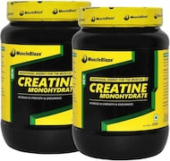 MuscleBlaze Creatine Monohydrate (250GM, Pack of 2)