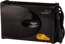 V-Guard Crystal Plus Voltage Stabilizer (Black)