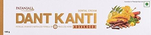Patanjali Dant Kanti Advance Dental Cream (100GM, Pack of 3)