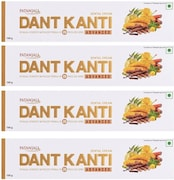 Patanjali Dant Kanti Advanced Toothpaste (100GM, Pack of 4)