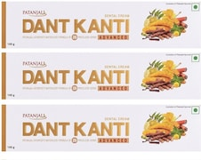 Patanjali Dant Kanti Advanced Toothpaste (100GM, Pack of 3)