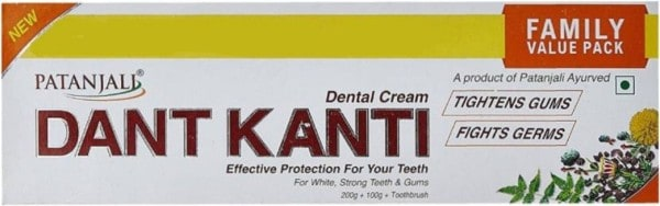 Patanjali Dant Kanti Dental Cream (300GM, Pack of 3)