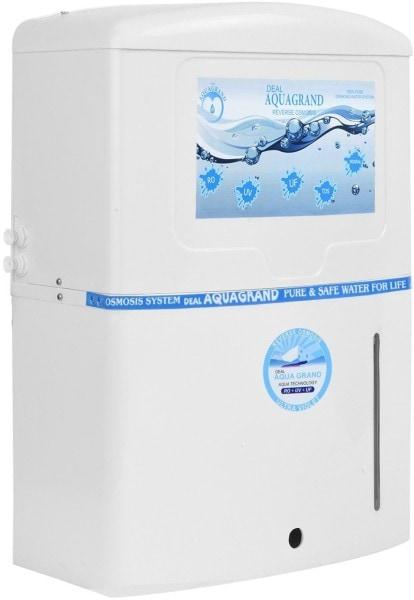 Aqua Grand Deal 12L RO+UV+UF+TDS Water Purifier (White)