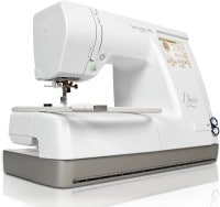 Bernette Deco Computerised Sewing Machine (White)