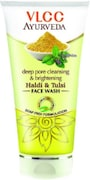 VLCC Deep Pore Cleaning & Brightening Haldi & Tulsi Face Wash (350ML)