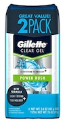 Gillette Deodorant Power Rush Clear Gel (112ML, Pack of 3)