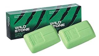 Wild Stone Deodorant Soap (Pack of 2)