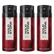 Wild Stone Deodorant Spray (150ML, Pack of 3)