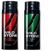 Wild Stone Deodorant Spray (150ML, Pack of 2)