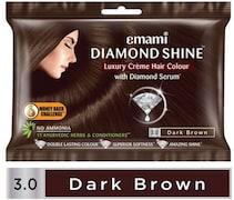 Emami Diamond Shine Creme Hair Color (Brown, 40GM)