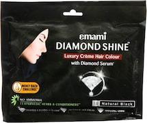 Emami Diamond Shine Creme Hair Color (Black, 40GM)