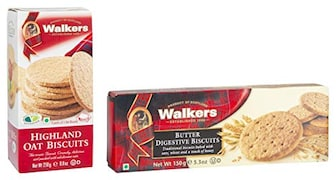 Walkers Digestive Butter Biscuits (150GM, Pack of 2)