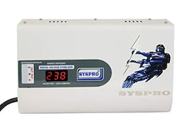 Syspro Digital Voltage Stabilizer (White)