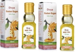 Patanjali Divya Badam Rogan Hair Oil (Pack of 2)