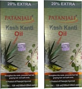Patanjali Kesh Kanti Hair Oil (120ML, Pack of 2)