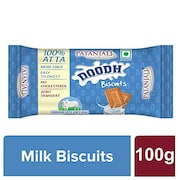 Patanjali Doodh Biscuit (100GM, Pack of 10)
