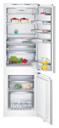 Siemens 186 L Frost Free Double Door 5 Star Refrigerator (KI34NP60, White)