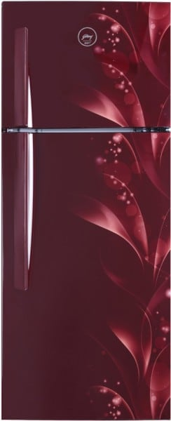 Godrej 190 L Direct Cool Double Door 3 Star Refrigerator (RT EONVIBE 256C 35 HCI SK WN, Silky Wine)