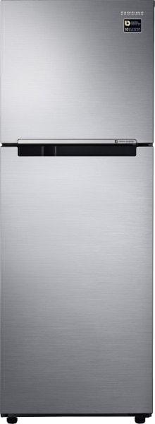 Samsung 253 L Frost Free Double Door 2 Star Refrigerator (RT28M3022S8, Elegant Inox)