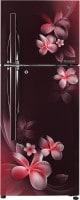 LG 260 L Frost Free Double Door 4 Star Refrigerator (GL T292RSPN, Scarlet Plumeria)