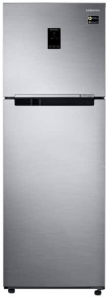 Samsung 345 L Frost Free Double Door 3 Star Refrigerator (RT37M5538S8, Elegant Inox)