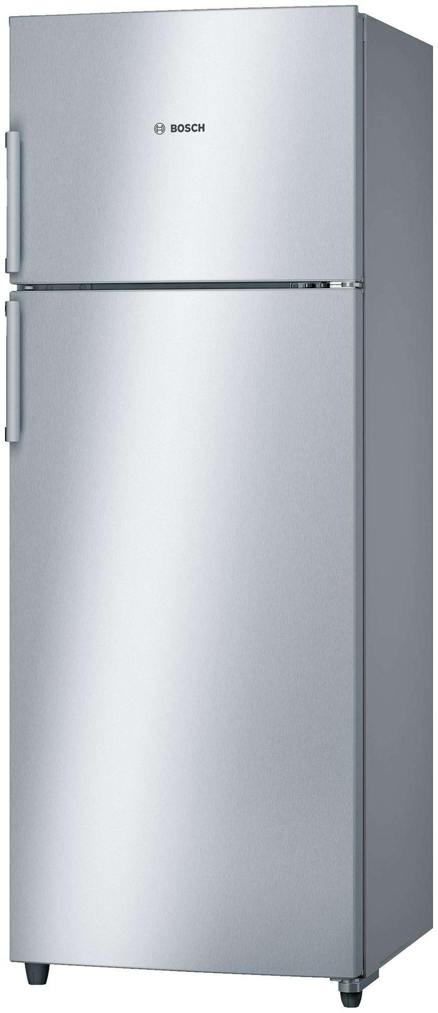 Bosch 347 L Direct Cool Double Door 4 Star Refrigerator (KDN43VL40I, Silver)