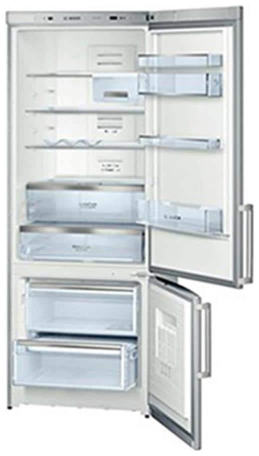 Bosch 505 L Frost Free Double Door 4 Star Refrigerator (KGN57AI50I, Steel Grey)
