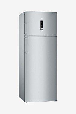 Siemens 507 L Frost Free Double Door 2 Star Refrigerator (KD56NXI30I, Silver)