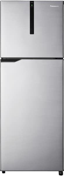 Panasonic 336 L Frost Free Double Door Top Mount 3 Star Refrigerator (NR-BG343VGG3, Grey)