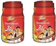 Dabur Double Immunity Chyawanprash (2KG, Pack of 2)