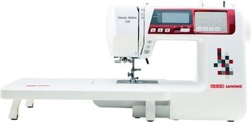 Usha Dream Maker 120 Computerised Sewing Machine (White)