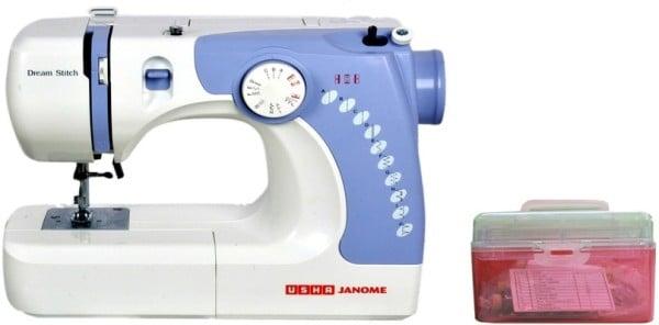 Usha Dream Stitch Electric Sewing Machine (White)