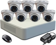 Hikvision DS2CE56COTIRPF Dome CCTV Security Camera (4 Channel)