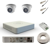 Hikvision DS7104HWISH Dome CCTV Security Camera (4 Channel)
