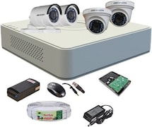 Hikvision DS7A04HGHIF1 CCTV Security Camera (4 Channel)