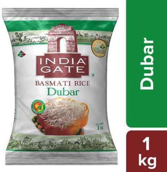India Gate Dubar Basmati Rice (1KG)