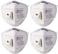 3M Dust Protection Anti Pollution Mask (Pack of 4)