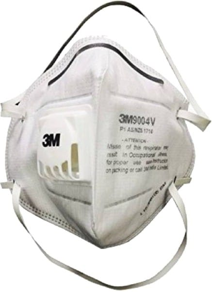 3M Dust Protection Anti Pollution Mask (White, Pack of 1)