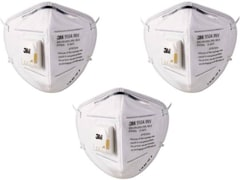 3M Dust Protection Anti Pollution Mask (Pack of 3)