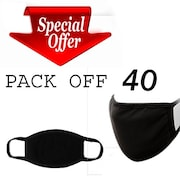 Aefsatm Dust Protection Anti Pollution Mask (Pack Of 40)