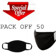 Aefsatm Dust Protection Anti Pollution Mask (Pack Of 50)