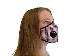Airclear Dust Protection Anti Pollution Mask (Red)