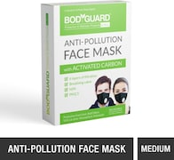 Bodyguard Dust Protection Anti Pollution Mask (Pack of 1)