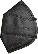Autokraftz Dust Protection Anti Pollution Mask (Black, Pack of 1)