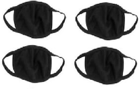 Bismaadh Dust Protection Anti Pollution Mask (Pack of 4)