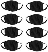 Bismaadh Dust Protection Anti Pollution Mask (Pack of 8)