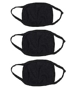 Autoridez Dust Protection Anti Pollution Mask (Pack of 3)