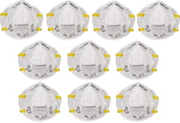 Clair Filters Dust Protection Anti Pollution Mask (Pack of 10)