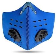 Jonty Dust Protection Anti Pollution Mask (Blue)