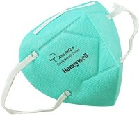 Honeywell Dust Protection Anti Pollution Mask (Green, Pack of 10)